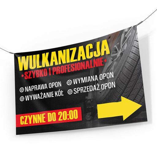 baner reklamowy wulkanizacja