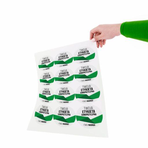 druk etykiet samoprzylepnych