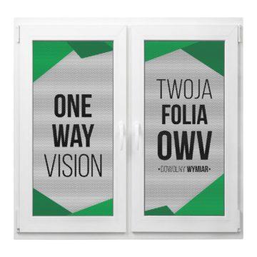 folia okienna znadrukiem prześwitująca OWV