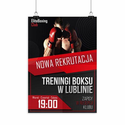 druk plakatów dla sportu