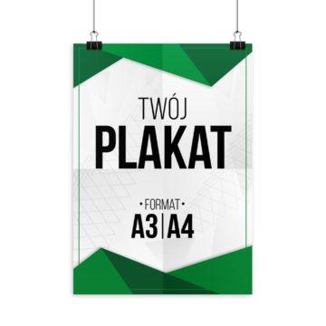 plakat wydruk format a4 a3